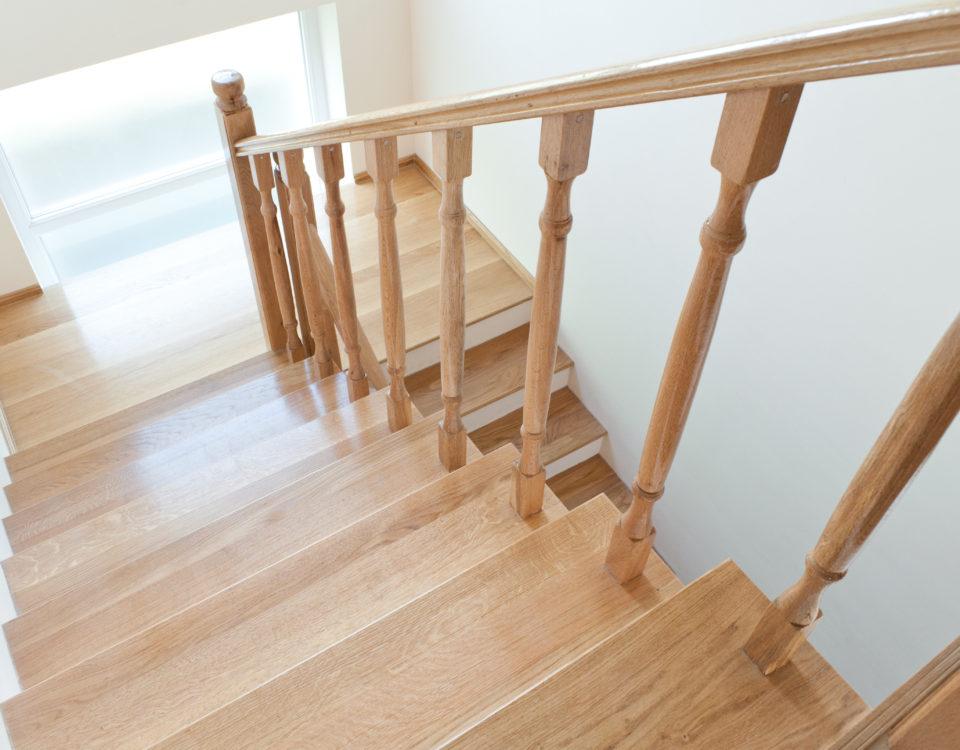 jak zrobić balustradę na schody